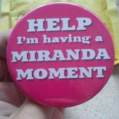 This is epic! I have 'Miranda' moments all the time--maybe not all the time but a solid number of times sure ; Miranda Tv Show, Sarah Hadland, British Things, Uk Tv, British Comedy, Embarrassing Moments, Great Friends, Frases, Humor