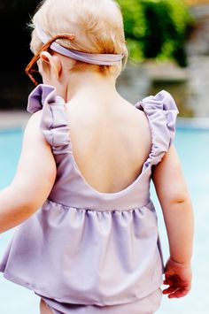 DIY Baby Tankini - FREE Sewing Pattern and Tutorial