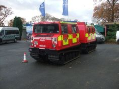 Tracked Vehicle Emergency show Stoneleigh