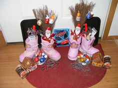St Nicholas day | Boots stuffed for St. Nicholas day | Winter