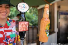 3 Daughters Brewing Channel Marker Red Ale and Orlando Brewing Organic Blonde Ale from Florida Fresh at the 2015 Epcot  Flower and Garden Festival... these were our two favorites.