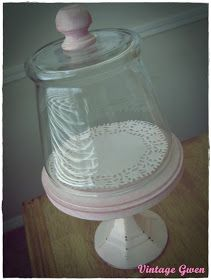 Today's project is inspired by some Darlings that I have recently featured. Remember these?  DIY Bell or Cloche Jars by Homework-Today's A...