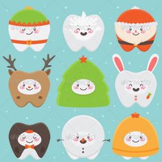 The holidays are the best! Everyone is smiling and showing off their pearly whites!