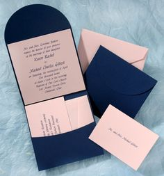 Pocket Wedding Invitations by Your Invitation Place