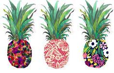 Tumblr fashion print cute pineapples drawing art pop art photography