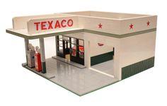 Custom Stadtmodell Vintage Tankstelle 50er von ABSDistributors