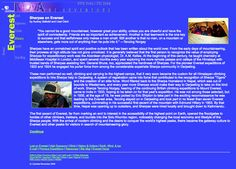 Sherpas on Everest Website for 6th - 8th Grade | Lesson Planet