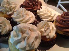 Cupcake vainilla y chocolate ...