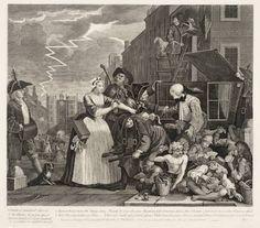 William Hogarth - A Rake's Progress - Plate 4 - Arrested For Debt. William Hogarth, Moral Panic, Medieval, Religion, Fine Art Prints, Framed Prints, Tate Gallery, Canvas Art, Canvas Prints