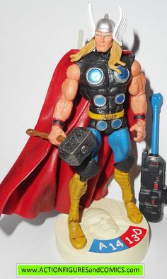 toy biz action figures for sale to buy MARVEL LEGENDS SHOWDOWN 2005 THOR 100% COMPLETE with all weapons/accessories & parts Condition: Overall Excellent. nice paint, nice joints. nothing broken or dam