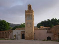 Exterior of the restored Mosque of the Mechouar in Tlemcen, Algeria. The citadel was a seat of government for Almohad, Ziyanid, and Ottoman rulers.  https://archnet.org/sites/16019?utm_content=buffer0b8b2&utm_medium=social&utm_source=pinterest.com&utm_campaign=buffer. Photo: Anas Soufan, 2012.