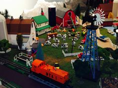 Train Time 18: Farm to Table by Train model train exhibit at Wenham Museum.  Photo: M. Barthelmes