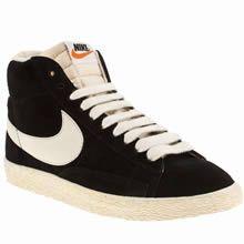 Classe Hommes Nike Blazer Low Vintage Suede Premium blanc Blanc