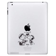 Snoopy & Charly Brown sur iPad