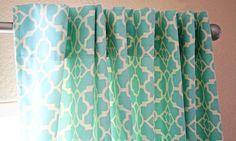 como hacer cortinas y calcularar tela necesaria