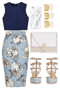 """""""Untitled #400"""" by heygailee on Polyvore featuring Alice + Olivia, River Island, Valentino and New Look"""