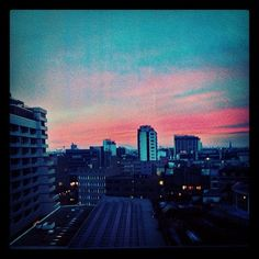 early morning sunrise Berlin