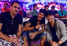 Неймар посетил WSOP 2015 MAIN EVENT.  Ежегодно на WSOP можно встретить нескольких из лучших профессиональных спортсменов мира, и в этот раз серию своим присутствием почтил бразильский футболист Неймар (Neymar Jr).