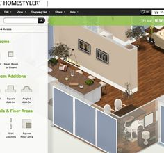 Homestyler Room Builder Great To Visualise Room Layout