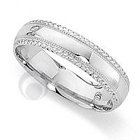 Palladium Wedding Ring PDCCT5056