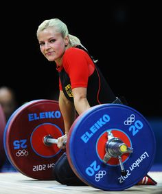 Julia Rohde, Germany, Olympic Weightlifting