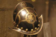 Germany (Nuremberg, Master MR), 1590.  Helmet of the Guard of Christian I or Christian II, Electors of Saxony.