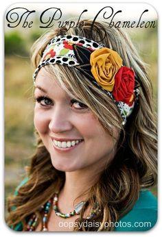 I heart roses Burnt Orange Weddings, Broach Bouquet, Head Wrap Headband, Handmade Headbands, Hats For Men, Rosettes, Hair Ties, Head Wraps, Cute Hairstyles