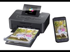 Canon SELPHY CP910 Black Portable Wireless Compact Photo Color Printer