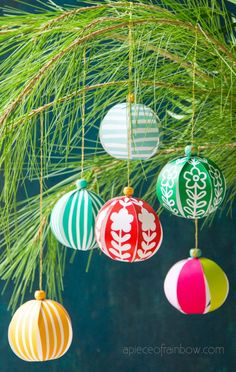 5 Minute Beautiful Diy Paper Christmas Ornaments For Almost Free Easy Decorations and Paper Crafts For Kids and Family Video Tutorial and Printable Templates A Piece Of Rainbow Christmas Tree Decorating Ideas, Farmhouse Decor Christmas Tree Decorations For Kids, Paper Christmas Ornaments, Noel Christmas, Christmas Crafts For Kids, Easy Decorations, Holiday Crafts, Paper Crafts For Kids, Crafts To Make, Diy Crafts