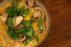 Super Simple Spicy Mango Chicken Curry