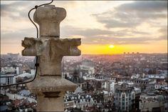 Sunset on Brussels, Belgium. Copyright Eric Danhier