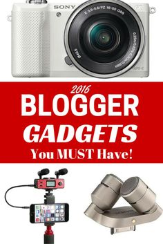 Cool Blogger Gadgets You MUST Have in 2016! - Sunny in London