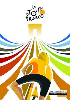 Tour de France The Route Revealed! - PezCycling News Women's Cycling, Clipart, Bike Speed, Monster Cycle, Bike Mtb, Bike Illustration, Bike Poster, Tour Posters, Bicycle Art