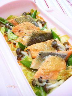 ルクエで鮭のちゃんちゃん焼き風 by ティ*さん | レシピブログ - 料理 ...