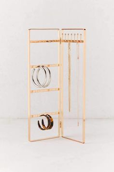 Laya Folding Jewelry Storage Stand Shop Laya Folding Jewelry Storage Stand at Urban Outfitters today. Discover more selections just like this online or in-store. Jewelry Stand, Jewelry Holder, Jewelry Box, Jewelry Making, Fine Jewelry, Earring Holders, Jewelry Crafts, Necklace Holder, Jewelry Armoire
