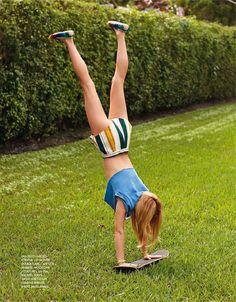 """Cover Story """"Hello Sunshine"""" for Elle France"""