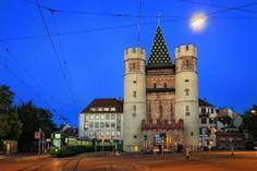 Ворота Шпалентор, Базель. Швейцария