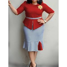 Office Dress Women Patchwork Plaid Mermaid Stylish Red Street Slim Ruffles Summer Ladies Yellow Casual Work Sexy Bodycon Dresses Size M Color Red - - Source by Short African Dresses, Latest African Fashion Dresses, Classy Work Outfits, Classy Dress, Traditional Dresses Designs, Office Dresses For Women, Red Bodycon Dress, Red Street, Ruffles