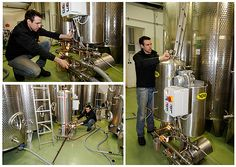 Kellerarbeit am Weingut Rothschaedl Home Appliances, Wine, House Appliances, Appliances
