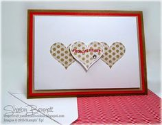 Crafty and Creative Ideas: Groovy Love Valentine's Card - PPA Color Challenge 239