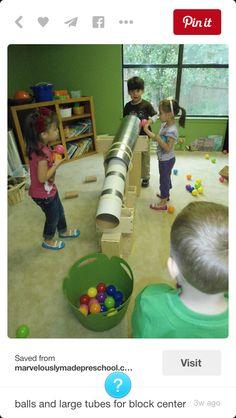 Block play area