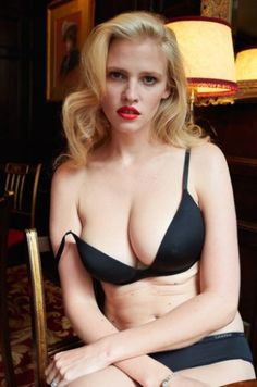 Lara Stone for System Magazine #real #body #blode #big #breast #lara #stone #after #pregnancy