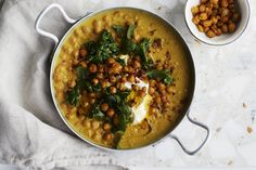 The stew eli kikhernemuhennos Chickpea Stew, Chana Masala, New York Times, Main Dishes, Good Food, Food And Drink, Cooking Recipes, Meals, Vegetables