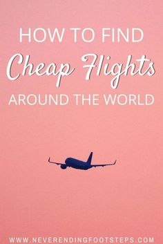 Over the past five years of continuous travel, the one question I've been asked most is how I manage to score cheap flights. Click here to check out my guide!