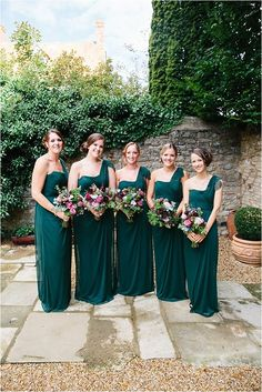 Teal Chiffon One Shoulder Pleating Straight Across Cheap Long Bridesmaid Dresses, Teal And Grey Wedding, Aqua Wedding, Teal Weddings, Dream Wedding, Winter Weddings, Wedding Flowers, Rustic Bridesmaid Dresses, Wedding Dresses, Green Bridesmaids