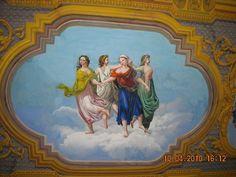 F.do Pallegiani - 1866 ca. Le Quattro Stagioni Salone delle Feste Palazzo Acampora - Agerola (NA)