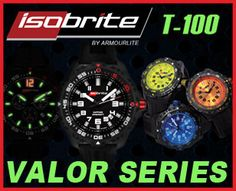 ArmourLite Watches - Isobrite | Professional | Automatic | Colorburst | Captain Field