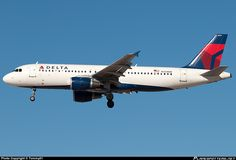 N333NW Delta Airbus A320-200