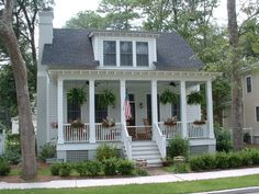 Wiggins Street Cottage - Allison Ramsey Architects - House Plans in All Styles for All Regions