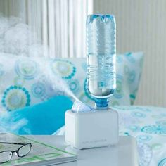 This portable humidifier that asks for nothing more than a bottle of water: